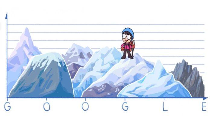 Google Doodle Celebrates Junko Tabei