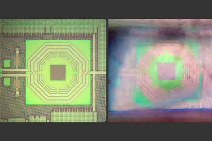 Quantum sensing on a chip