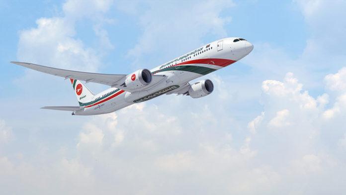 Biman 787-9 Dreamliner